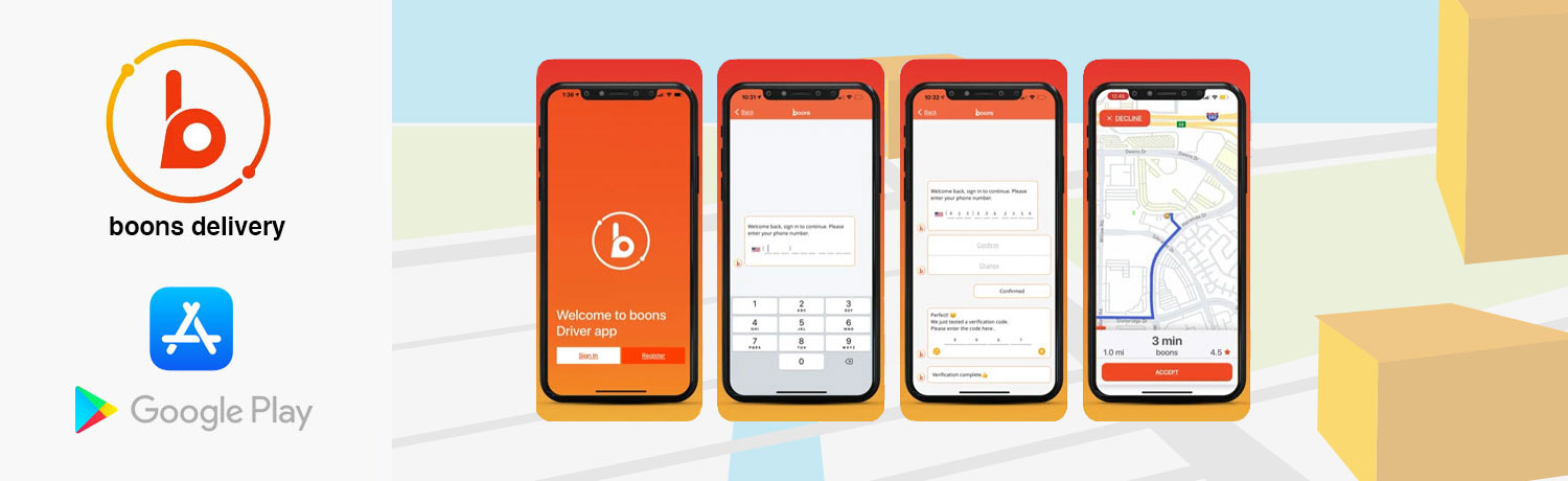 boons Delivery Mobile App